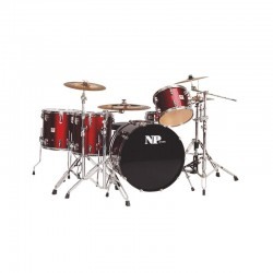 SET BATERIA GREAT FUNKY  5 PIEZAS FORRADO...